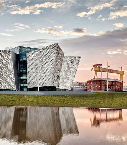 Tianic Belfast & SS Nomadic | Newforge House